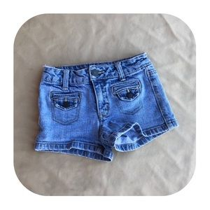 5/$10 Justice Jean Shorts Girls Size 8 Slim